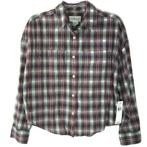 NEW $69 RL DENIM & SUPPLY Button Down Shirt XS TP